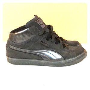 Puma Shoes   Puma Mid Top Sneaker